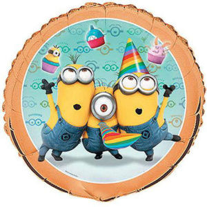 10 Despicable Me Minions Mylar birthday  Balloons
